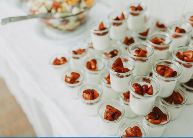 Erdbeere Creme Nachspeisen Europahaus Restaurant Wien