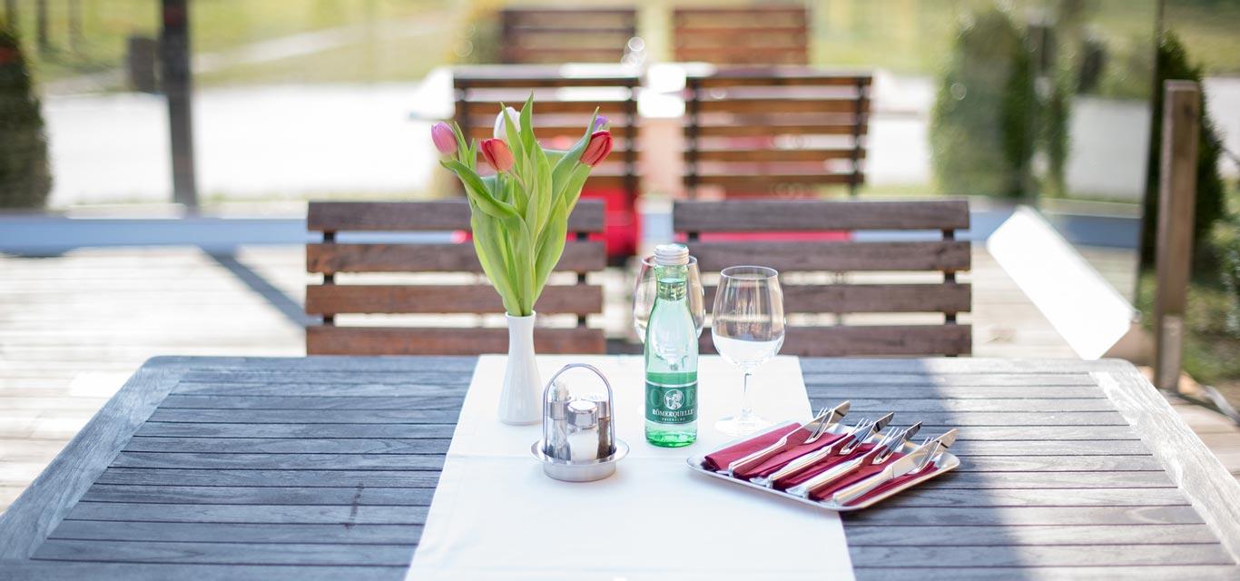 Garden Restaurant Europahaus Vienna 1140
