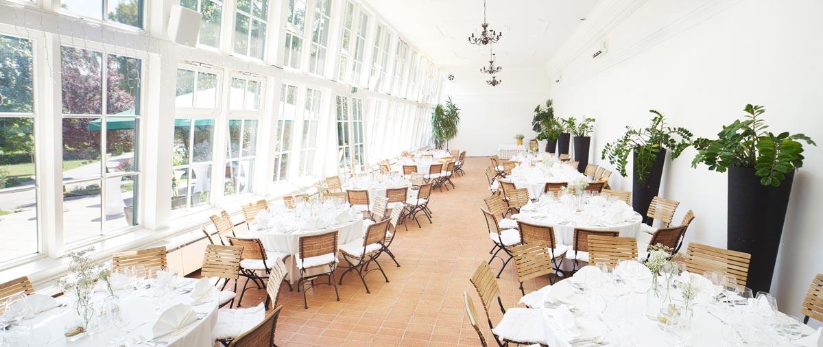 Orangerie Hochzeitslocation Wien 1140