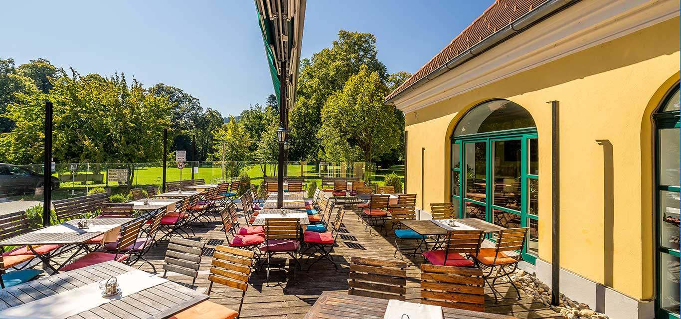 Restaurant Europahaus Garten Wien 1140