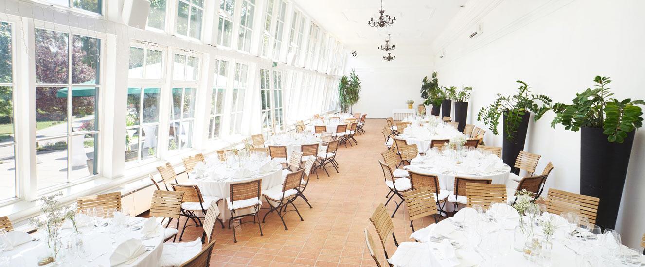 Hochzeitslocation Orangerie Wien 1140