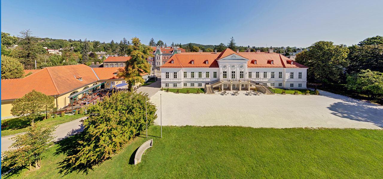 Schloss Miller Aichholz Luft